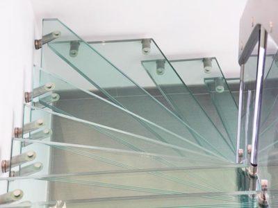 escalier en verre en colimçon escalier en verre circulaire