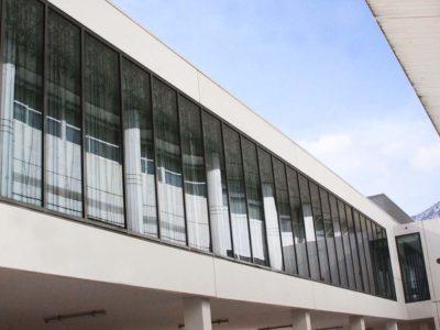 facade en verre feuilleté décoratif natura vitrage décoratif