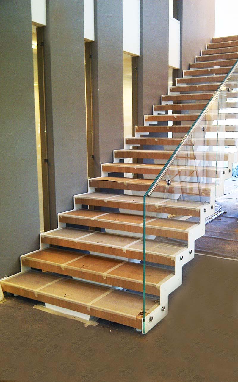 Rampe Escalier En Verre Marches Escalier En Verre