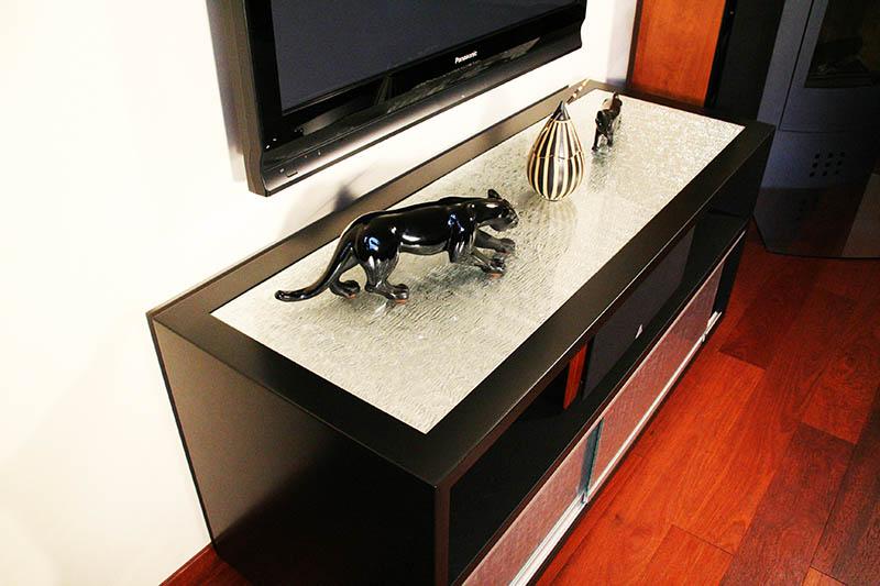mobilier en verre design, mobilier en verre sur mesure