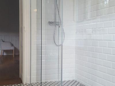 parois de douche verre sur mesure