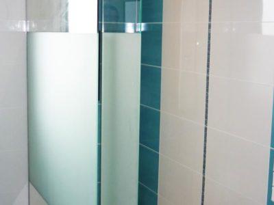 Pare douche en verre trempé sur mesure
