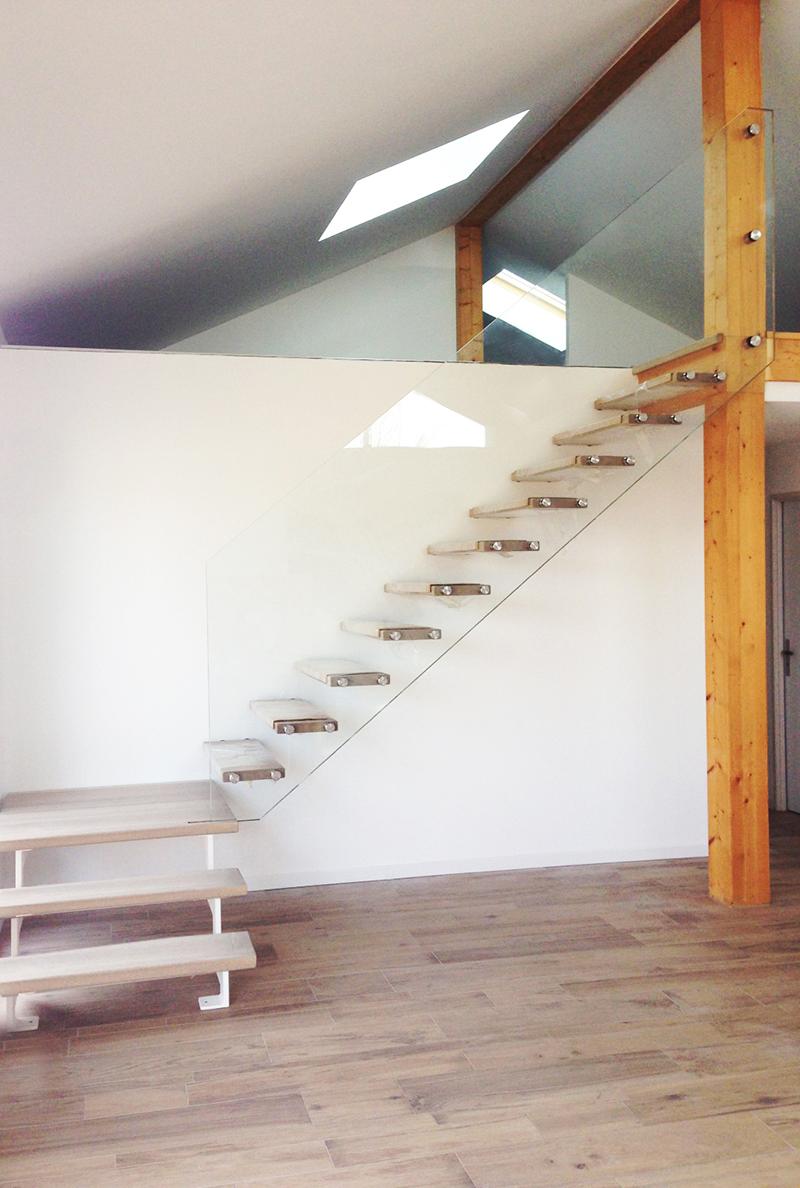 5 Idees De Rampes D Escaliers En Verre Decouvrez Nos