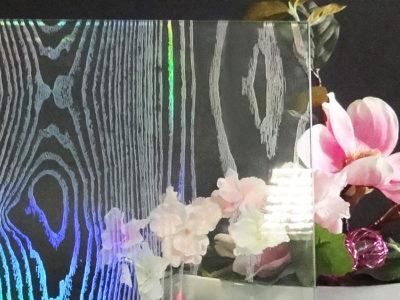 verre feuilleté décoratif vitrage feuilleté de sécurité