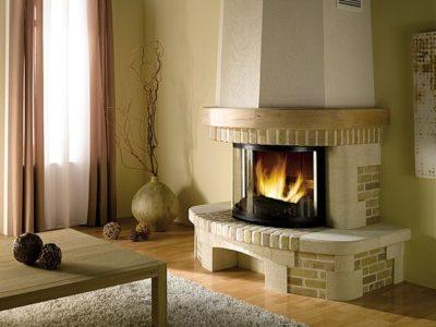vitre insert pour cheminée
