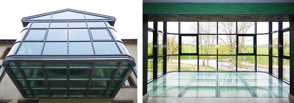 dalle de sol en verre sol en verre plancher en verre