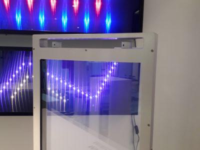 verre feuilleté intelligent avec opacité contrôlée