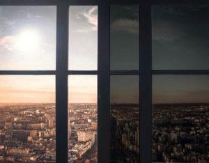 vitrage feuilleté controle solaire dynamique