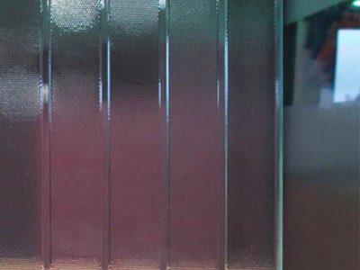 verre décoratif imprimé pour cloison en verre
