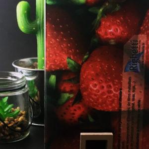 vitrage feuilleté décoratif avec insertion image