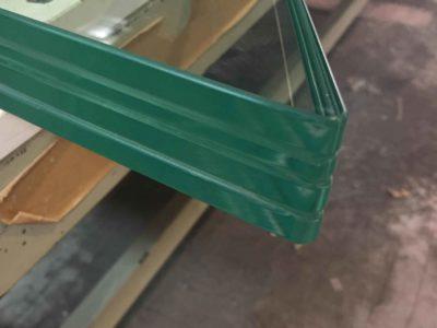 dalle de sol en verre feuillete sur mesure