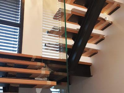 garde corps en vere intérieur garde-corps en verre pour escalier