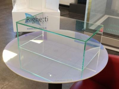 fixation mobilier verre sur mesure