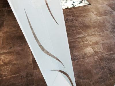 verre decoratif sable avec motifs