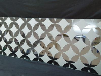 vitrage decoratif sable depoli sur mesure
