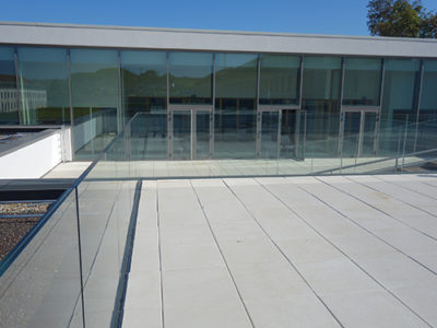 balustrade en verre pour exterieur