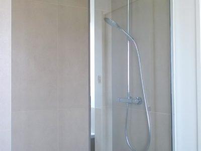 douche italienne en verre
