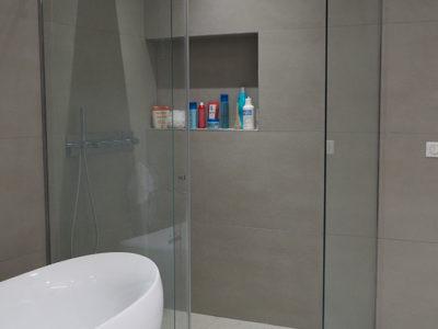 douche italienne verre anti calcaire