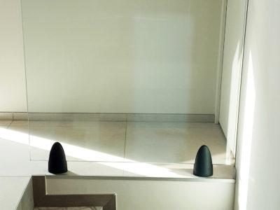 garde-corps en verre intérieur