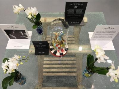 mobilier en verre table verre feuillete decoratif