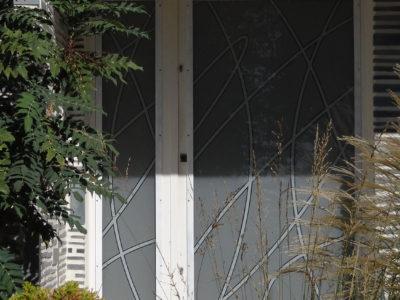 porte entree vitree