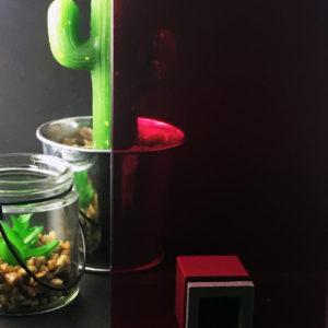 vitrage feuilleté décoratif coloré