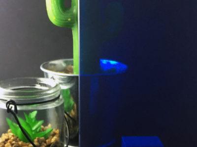vitrage decoratif film couleur