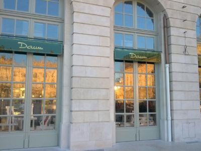double vitrage pour vitrine magasin