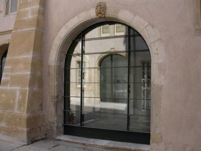 double vitrage vitrine sur mesure