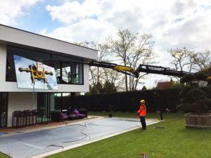 Installation double vitrage baie vitrée