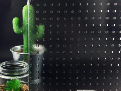 master carre verre imprime decoratif