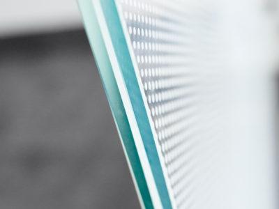 verre feuillete decoratif sur mesure