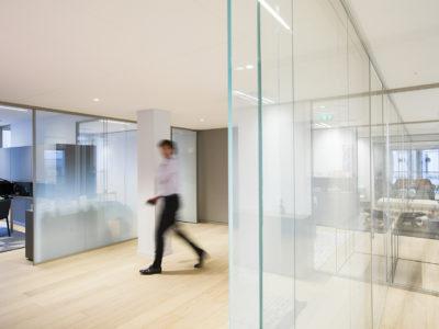 cloison en verre sur mesure pour bureaux