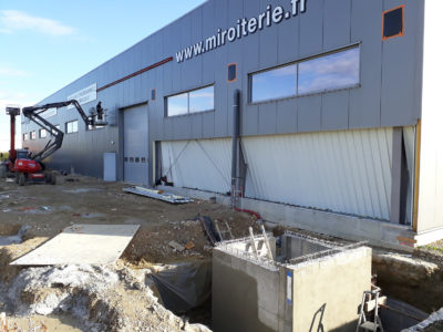 construction des ouvertures extension