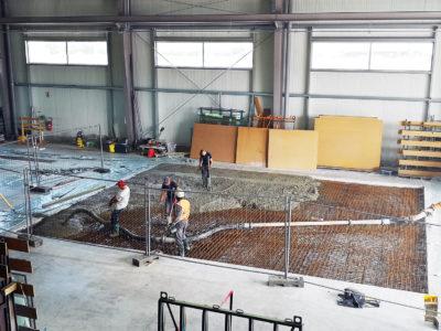 dalle de beton extension righetti