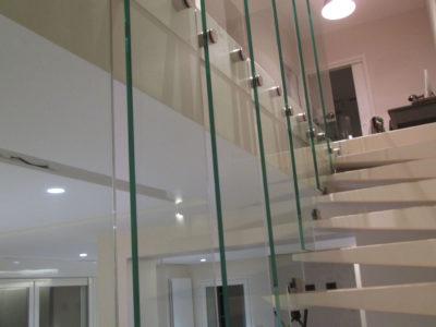 garde corps verre pour rampe escalier