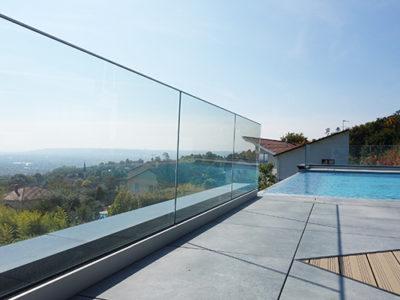 rambarde de securite pour terrasse