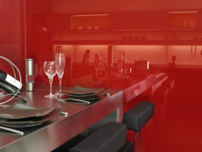 verre laque colore sur mesure pour cloison vitree