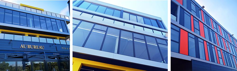 facade vitrée sur mesure