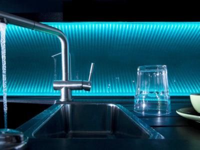 credence en verre design