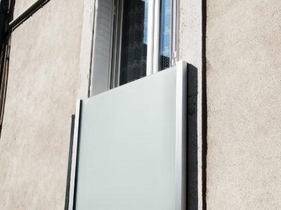 garde corps pour fenêtre exterieure