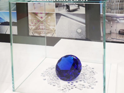 cloche en verre anti reflet sur mesure