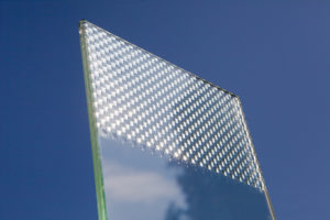 verre décoratif innovant