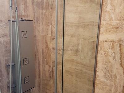 douche en verre sur mesure
