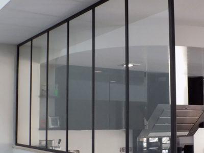 Verrière d'intérieur en verre sécurit©