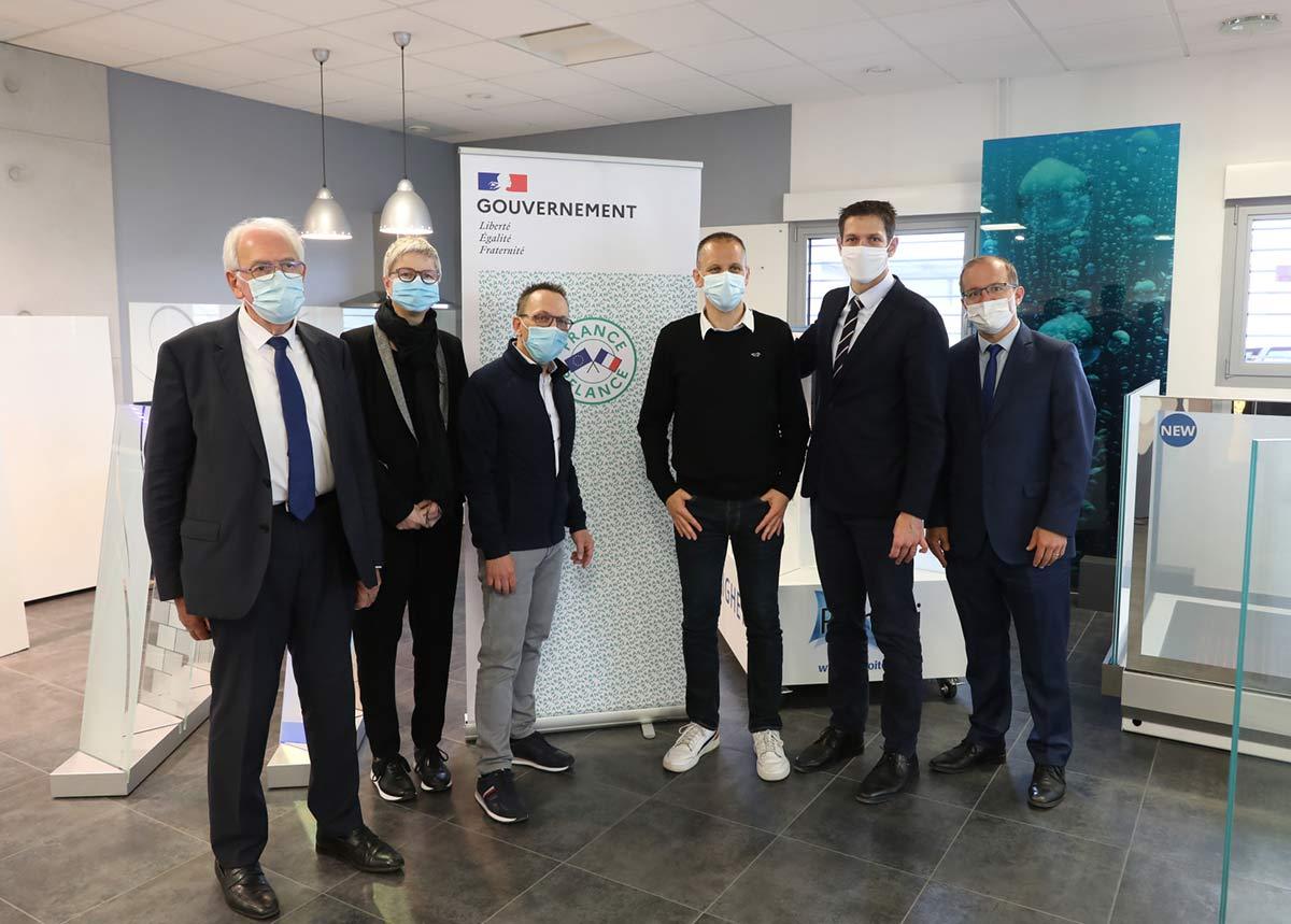 Miroiterie Righetti : Lauréate Plan France Relance