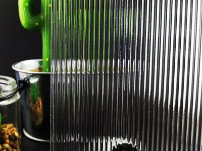 verre imprimé estriado